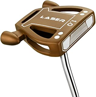 Ram Golf Laser Model 1 Putter w Advanced Perimeter Weighting- Headcover Included - Copper