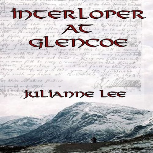Interloper at Glencoe audiobook cover art