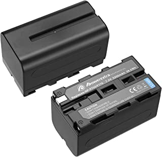 NP-F750 バッテリー 5200mAh リチウムイオン交換用バッテリー Sony NP-F730, NP-F750, NP-F760, NP-F770 Sony CCD-TRV215 CCD-TR917 CCD-TR315 HDR-FX10...
