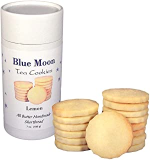 Sponsored Ad - Lemon Butter Shortbread Cookies (2-Pack) Shortbread Cookies for Dunking - Tea Biscuit Tea Cookie Gift Tin -...