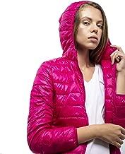 DASTI Down Jacket Women Ultralight Packable Puffer Hooded Coat Lightweight Warm Chaquetas de Mujer invierno
