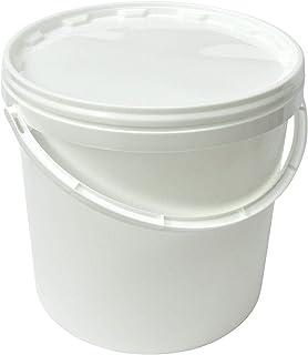 Kunststoffeimer mit Deckel, 10 Liter