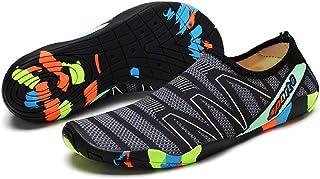Water Shoes Colour Beach Shoes Shoes Beach Shoes Surf Shoes for Men Women Grey Size: 9 UK