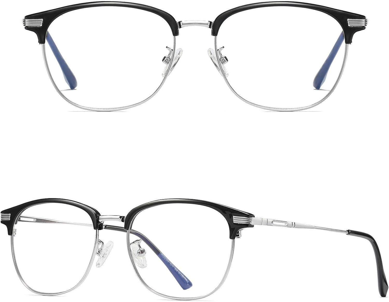 Aosong Blaulicht-Blockierbrille Spielbrille Anti-Kopfschmerz Und Augenbelastung Superleichtes Computer-Brille Mode-Zubeh/ör Unisex F/ür Fraun Und M/änner