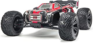 ARRMA KRATON 6S BLX Brushless 4WD RC Speed Truck RTR (LiPo Battery Required) with 2.4GHz Radio | 1:8 Scale (Black/Red)