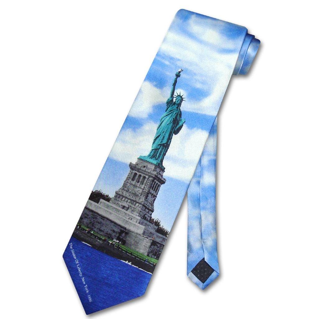 STATUE of LIBERTY 100% SILK NeckTie Men's Neck Tie