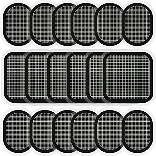 COOMATEC 18 Pièces Électrode de Ceinture,Compatible avec Abs Series, Électrode de Rechange pour...