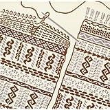 kenema 和雑貨 手捺染小風呂敷 編み物 50×50cm
