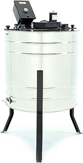 LYSON 4-Waben Honigschleuder Diagonalschleuder Ø500 elektrisch, Honigextractor mit..