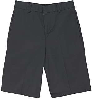 French Toast Boys' Basic Flat-Front Short with Adjustable...