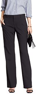 3c29ff43fb9 Banana Republic Women s Jackson-Fit Classic Suit Trouser Black 2R