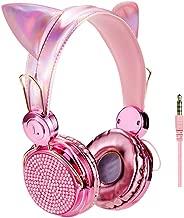 Best wired cat ear headphones purple Reviews