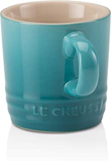Le Creuset PG8005T-0017 PG8005-0017, 3.5 Ounce, Caribbean Petite Espresso Mug