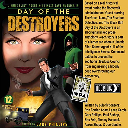 Day of the Destroyers audiobook cover art