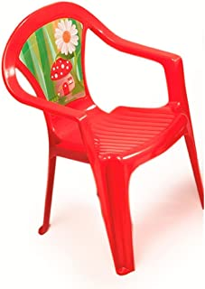 Plum Paradiso Kids Chair  Red