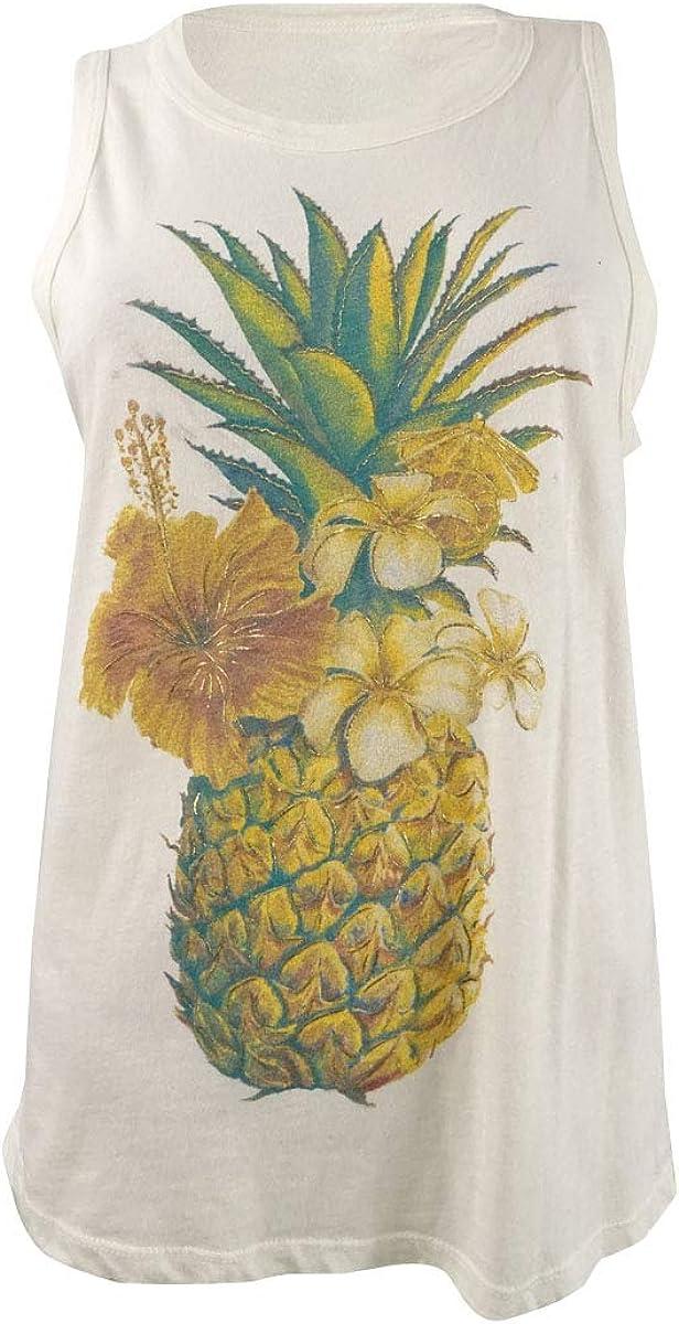 Kansas City Mall Ranking TOP17 Lucky Brand Women's Colorful Top Pineapple Tank