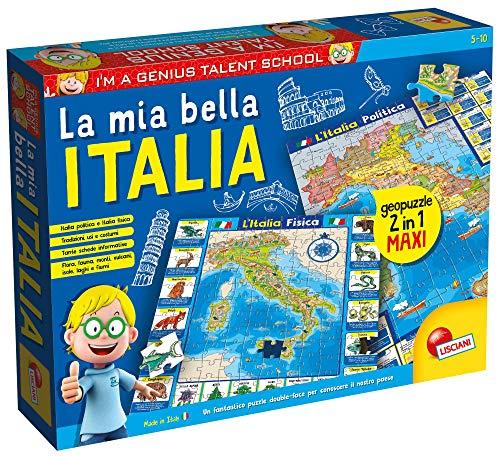 Lisciani Giochi I'm a Genius Geopuzzle la Mia Bella Italia