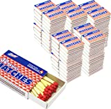 100 Packs Matches 32 count Strike on Box Kitchen Camping Fire Starter Lighter