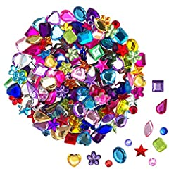 Package includes: 100 10mm heart-shaped rhinestones, 100 6*12mm horse eye-shaped rhinestones, 100 10mm pentagonal rhinestones, 100 6mm round rhinestones, 100 8*13mm water drop-shaped rhinestones, and 100 10mm flower-shaped rhinestones. 100 10*8mm ova...