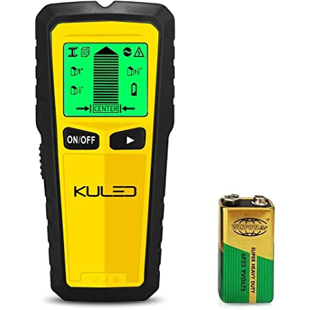Stud Finder Wall Scanner Metal Studs 3 in 1 Multi-Function Electronic Stud Sensor Beam Finders with LCD Display and Sound Warning AC Wire for Wood