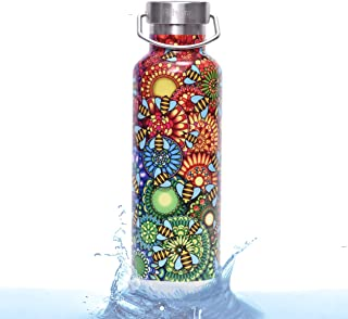 Rehydrate Pro 25oz /17oz Double Wall Vacuum Stainless Steel Insulated Water Bottle. Comparable to Hydroflask, Yeti, Swell ...