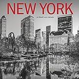 "Graphique New York Wall Calendar, 16-Month 2021 Wall Calendar with Historic American Landmark Photographs, 3 Languages & Major Holidays, 2021 Calendar, 12"" x 12"" (CY20621)"