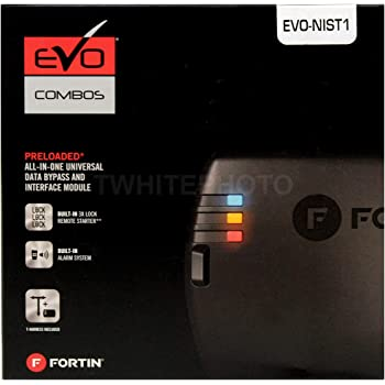 Fortin EVO-CHRT6 Stand-Alone Add-On Remote Start Car Starter System For Chrysler Dodge Jeep Push-To-Start Vehicles