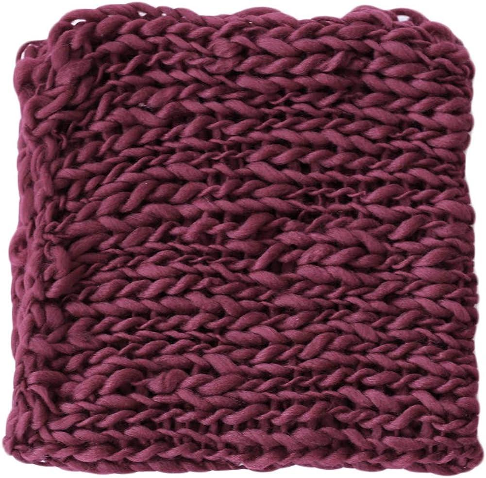 Baby New Washington Mall color Photography Props Basket Braid Newborn Wrap Shoo Wool Photo