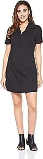 Calvin Klein Women's 8719113657-Black Calvin Klein Jeans Short Sleeve Milano Diner Dress for Women - CK Black