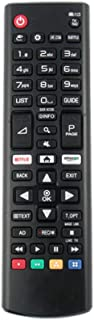 Mando a Distancia de Repuesto Compatible con LG 70UJ675V 65UK6750PLD 65UK6500PLA 65UK6470PLC 65UK6400PLF Smart LED TVs