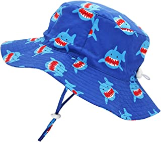 Kids Toddler Baby Summer Bucket Sun Hat Breathable Adjustable Fisherman Hats