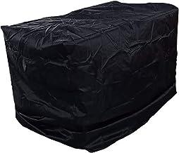 Dekking Voor Brandhoutrek, 4 Ft 8 Ft Log Rack Cover Waterdicht Winddicht Anti-UV-stevige Oxford-doek Bescherming Tegen All...
