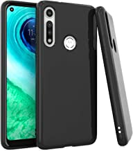 EnCASEs Cell Phone Case for Motorola Moto G Fast, Classic TPU Shockproof Bumper Protective Case Cover, Black