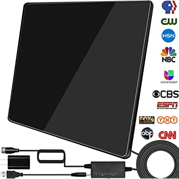 350 Miles Range Digital TV Antenna 1080P Amplified HDTV Booster USB Power HD 4K