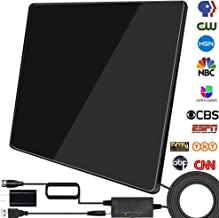 [2020 Newest] HDTV Digital Antenna, TV Antenna Indoor Amplified 200 Miles Range Support..