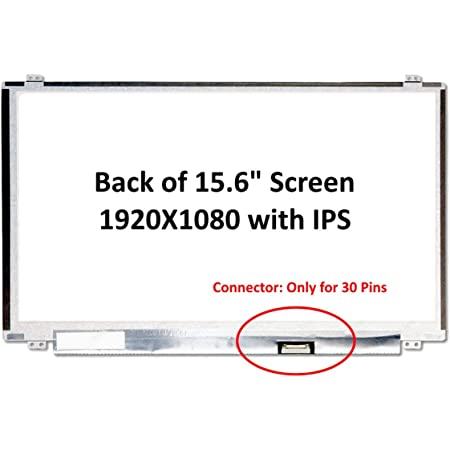 IPS Glossy FHD 1920x1080 SCREENARAMA New Screen Replacement for NV140FHM-N4B LCD LED Display with Tools