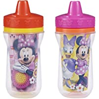 2 Pack The First Years 9 Ounce Insulated Sippy Cup (Minnie Mouse)
