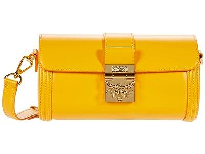 MCM Tracy Crossbody Small (Saffron) Handbags