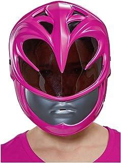 Horror-Shop Máscara Rosa Ranger Kids Half Mask Power Rangers
