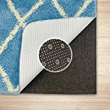 Non Slip Area Rug Pad - 9 x 12, 1/3' Thick Dual Surface. Reduce Noise Grippers Area Runner Carpet Mat for Hardwood Floor, Super Strong Grip, Provides Protection and Cushion
