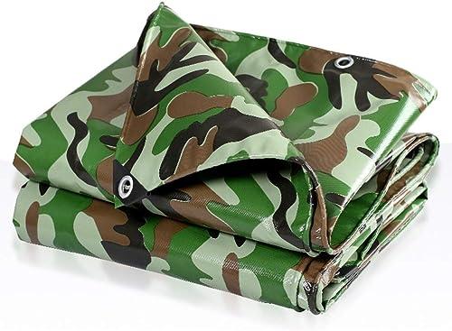 LIXIONG Bache De Plein Air Camouflage Tissu Imperméable Ombre Prougeection Contre Le Froid Anti-age, 16 Tailles Personnalisable (Couleur   MultiCouleure, taille   3.8x5.8m)