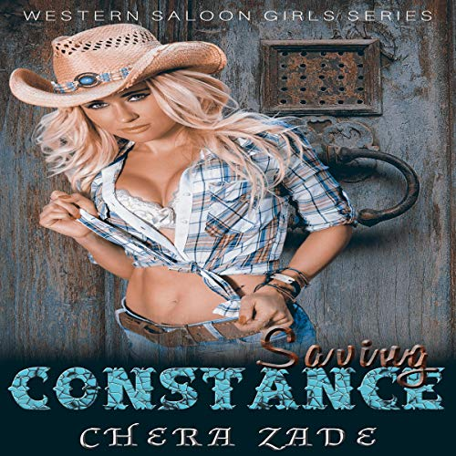 Saving Constance: A Western Erotic Romance audiobook cover art