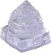 Satisfactory Nation Sphatik Shree Yantra Natural Quartz Crystal Shri Yantra 42 Gram