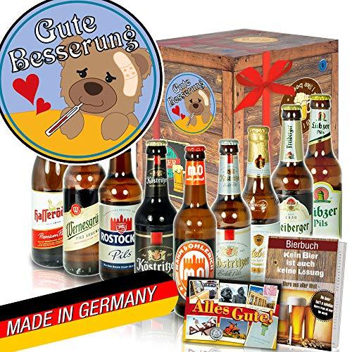 Gute Besserung - Geschenke Genesung - Ostdeutsche Biersorten