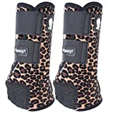 Classic Rope Company Legacy2 Front Protective Boots 2 Pack Cheetah M