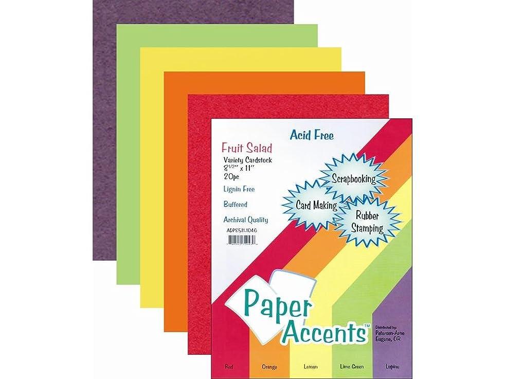 Accent Design Paper Accents PaperVarietyPk851120FruitSalad Paper