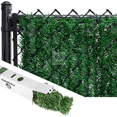 Fenpro Hedge Slats for Chain Link Fence (5 Ft.)