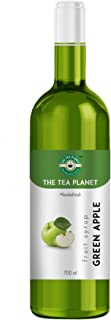 The Tea Planet -Green Apple Syrup to Coffee, Tea, and Specialty Cocktails, Non - GMO, Gluten-Free, Vegan (700 ml )