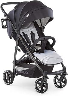 Hauck Rapid 4S barnvagn upp till 25 kg med justerbart ryggstöd från födseln, extra stort lock, höjdjusterbart styre, hopfä...