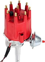 A-Team Performance Pro Series Ready to Run R2R Distributor Compatible With Ford Flathead 239 255 V8 Engine, Red Cap